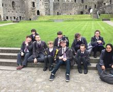 Findeg at caernarvan castle