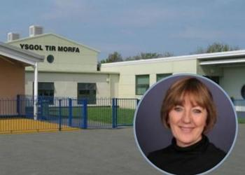 We have been given the title of 'most thanked school in Wales'